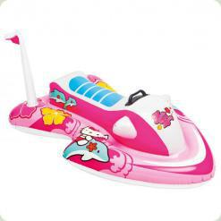 Плотик Intex Водний мотоцикл Hello Kitty (57522)