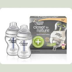 Пляшка для годування антіколіковая (2Х260 мл)