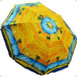 Пляжний парасолька Stenson 1,8 м (МН-0035) кольору в асортименті