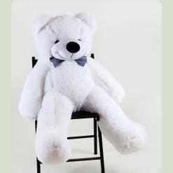 Плюшевий ведмедик Нестор Білосніжний 100 см