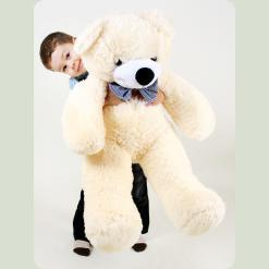 Плюшевий ведмедик Нестор Карамельний 135 см