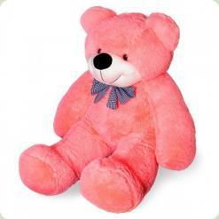 Плюшевий ведмедик Нестор Рожевий 120 см