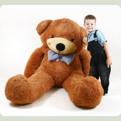Плюшевий ведмедик Нестор Шоколадний 200 см