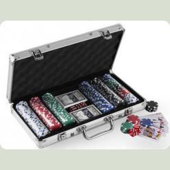 Покерний набір 200 фішок по 11,5 г (алюмінієвий кейс)