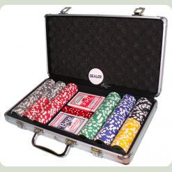 Покерний набір 300 фішок по 11,5 г (алюмінієвий кейс)