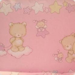 Постільний комплект Ассоль Змінний Ведмедики маленькі Рожевий