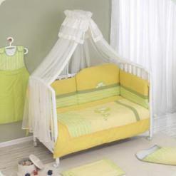 Постільний комплект Nino Erizo Yellow