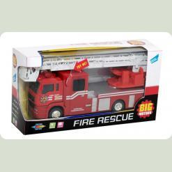 Пожежна машинка, інерційна