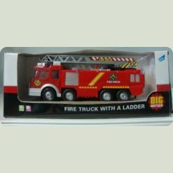 Пожежна вантажівка з драбиною