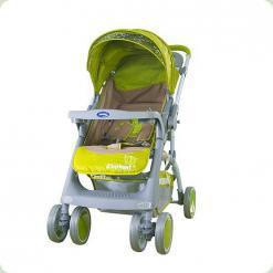 Прогулянкова коляска Bambini Mars з чохлом Green Elephant