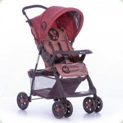 Прогулянкова коляска Bertoni Star з чохлом на ніжки Beige & Terracotta