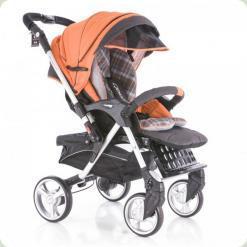 Прогулянкова коляска Capella S-709 Qbix Orange Check