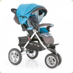 Прогулянкова коляска Capella S- 901 Blue Play