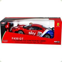 Радіокерований автомобіль MJX Ferrari F430 GT 1:10 (8208A)