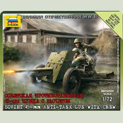 Радянська 45-мм гармата