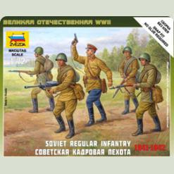 Радянська кадрова піхота 1941-1942 рр