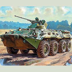 Радянський БТР-80А