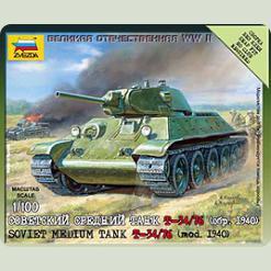 Радянський середній танк Т-34/76 (обр 1940р)