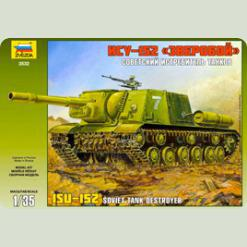 """Радянський танк ІСУ-152 """"Звіробій"""""""