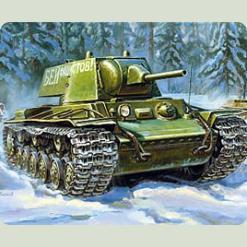 """Радянський танк """"КВ-1"""" мод. 1940р."""