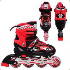 Ролики Profi Roller A 5034 S (30-33) Червоний