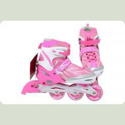 Ролики Profi Roller A 6037 L (39-42) Pink