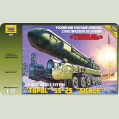 """Росс.ракетний комплекс """"Тополь"""""""
