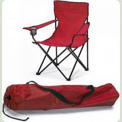 Розкладний стілець Stenson Павук з підстаканником OS-1824 Червоний