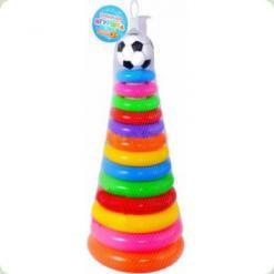 Розвиваюча іграшка Bambi Піраміда 45 см (736)