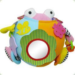 Розвиваюча іграшка Biba Toys Активний куля Сьюззі (021GD)