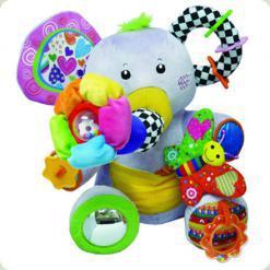 Розвиваюча іграшка Biba Toys Зайнятої слоненя (039JF)