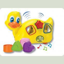Розвиваюча іграшка Keenway Каченя з пазлами (31524)