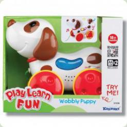 Розвиваюча іграшка Keenway Музична собачка (31536)