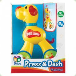 Розвиваюча іграшка Keenway Собачка Натисни і Наздожени (32604)