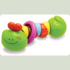 """Розвиваюча іграшка """"Різнобарвна гусеничка"""" (від 6 міс.)"""