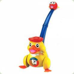 Розвиваюча іграшка WinFun NL Каталка Каченя (0653)