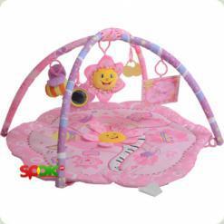 Розвиваючий килимок Bambi M 1551 Рожевий