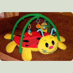 Розвиваючий килимок Biba Toys Божа Корівка Deluxe ( 669BP )