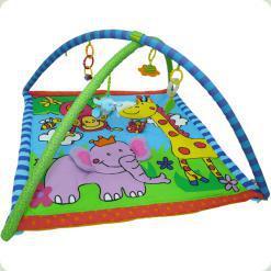 Розвиваючий килимок з дугами Biba Toys Щасливі Джунглі ( 035BP )