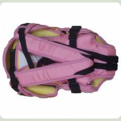 Рюкзак-переноска Womar № 8 Exclusive Рожевий 3 (21005)