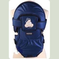 Рюкзак-переноска Womar № 8 Exclusive Темно-синій 10 (21006)