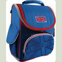 """Рюкзак шкiльний ортопедичний каркасний """"London"""" зi з'ємною пластиковою вставкою"""