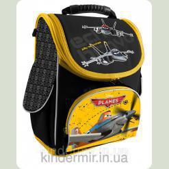 Рюкзак шкільний ортопедичний Літачки чорний