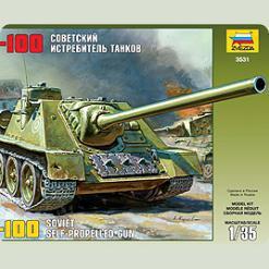 """Самохідка """"СУ-100"""""""