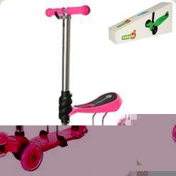 Самокат BabyHit 2 в 1 JR 3-043 Pink