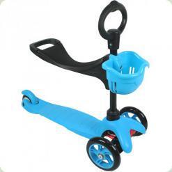 Самокат Ecoline Saddler Блакитний