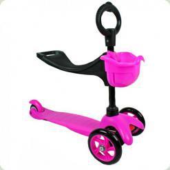 Самокат Ecoline Saddler Рожевий