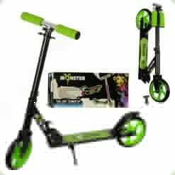 Самокат Profi Monster Inline Scooter Green (SR 2-010)