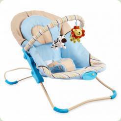 Шезлонг Alexis-Babymix BR246 (blue)