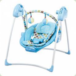 Шезлонг Alexis-Babymix SW108 (blue)